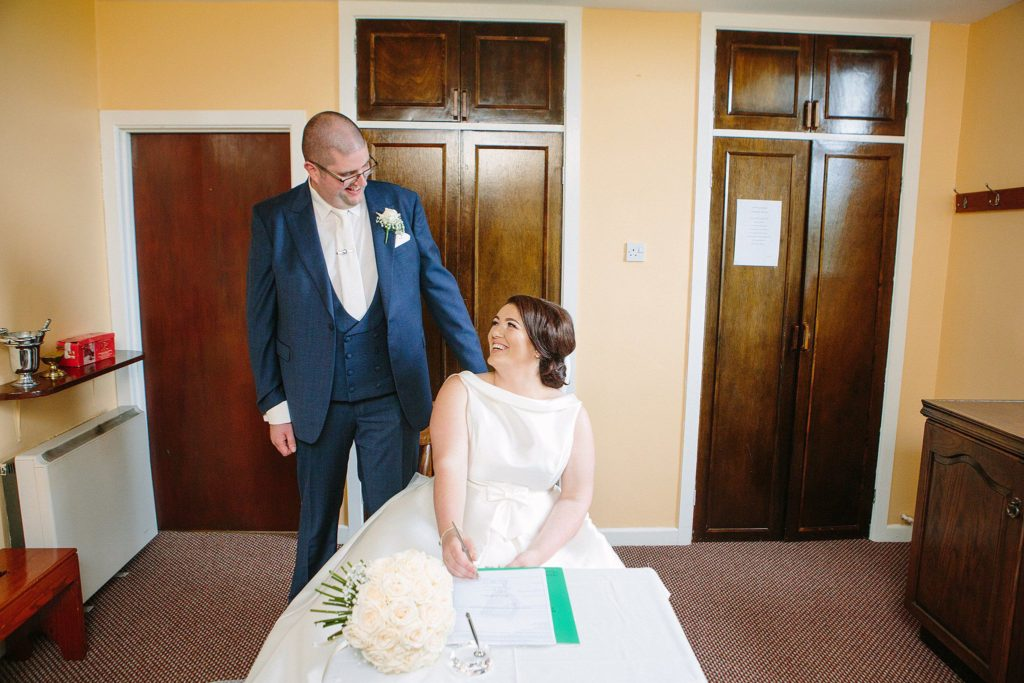 AN GRIANAN HOTEL WEDDING DAY